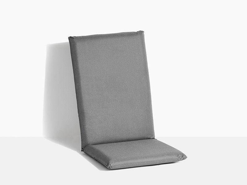 hynde til havestol i teak træ positionsstol med vippefunktion grå