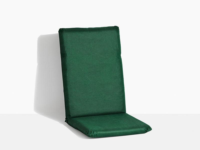 hynde til havestol i teak træ positionsstol med vippefunktion grøn