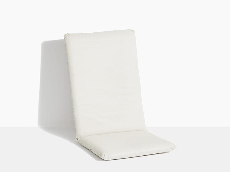 havehynder til havestol i teak træ positionsstol med vippefunktion hvid