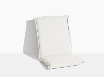 hynde til havestol i teak træ foldestol med klapsammen funktion hvid