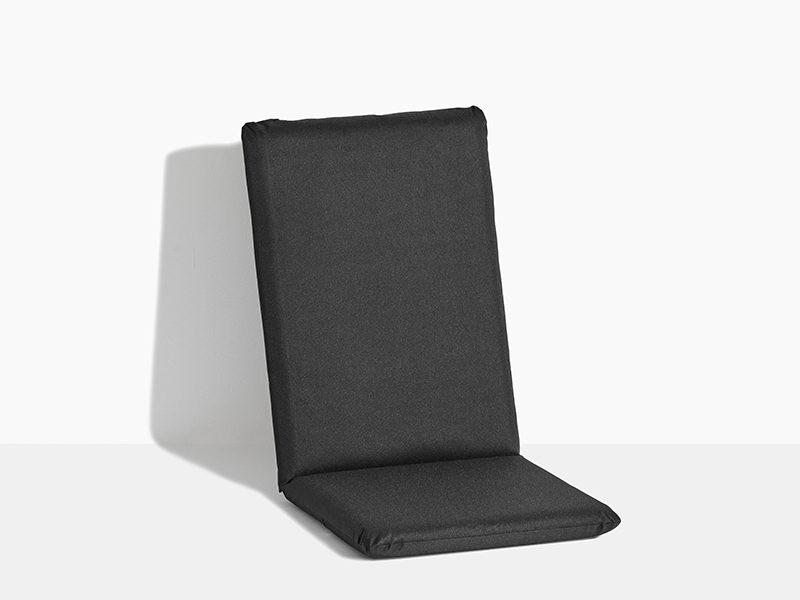 hynde til havestol i teak træ positionsstol med vippefunktion sort