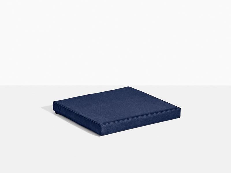 hynde til havestol i teak træ stabelstol blå køb online her