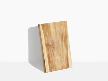 rustisk skære bræt i teak træ. 35 x 45 cm. Huggeblok. Tilbud