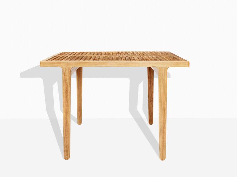 Havebord kvadratisk fra Scanteak