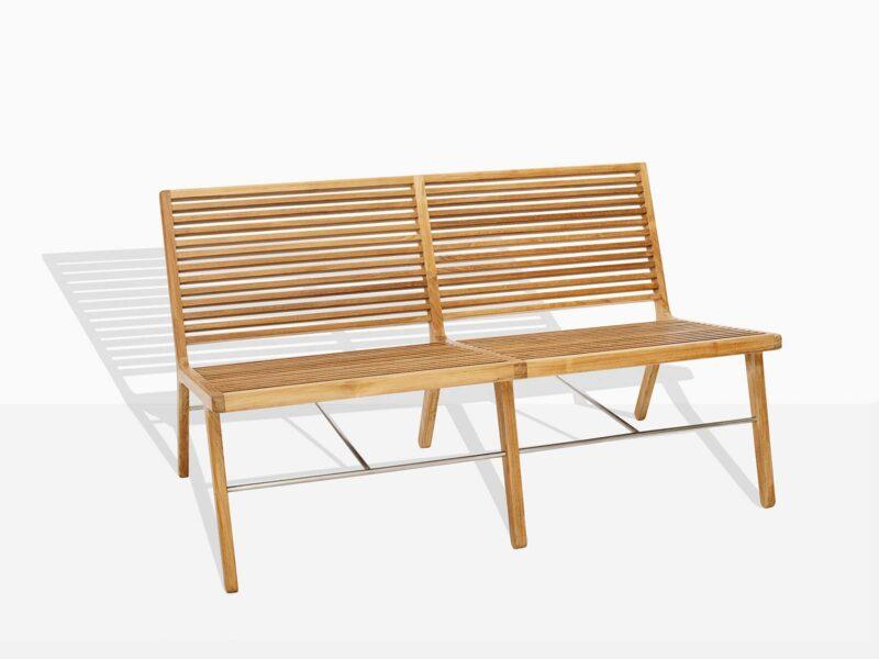 Lounge Bench Teak